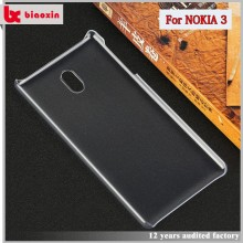 Hot mobile phone accessories PC normal case for Nokia 3 case