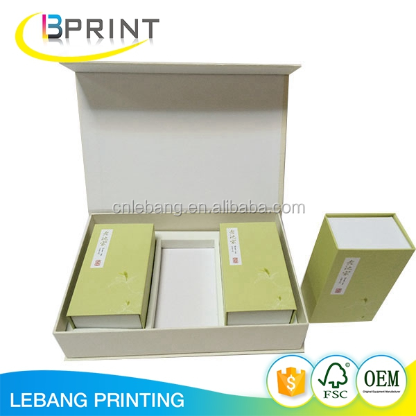 Wholesale hard paper gift box custom gift box with magnet closure