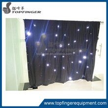 Topfinger factory china cost-effective led star drape for conference
