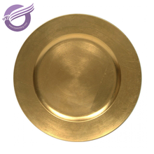 20874 Wholesale cheap gold silver plastic charger plates for wedding