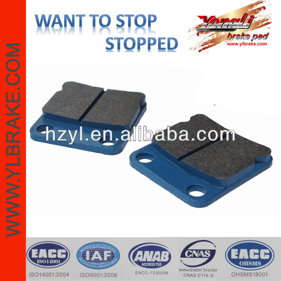 performance brake pad scooter plastic body parts
