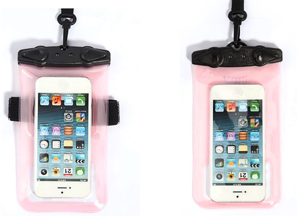 fancy 100% handmade mobile waterproof hanging pouch for swimming girls(SD-WB-013)