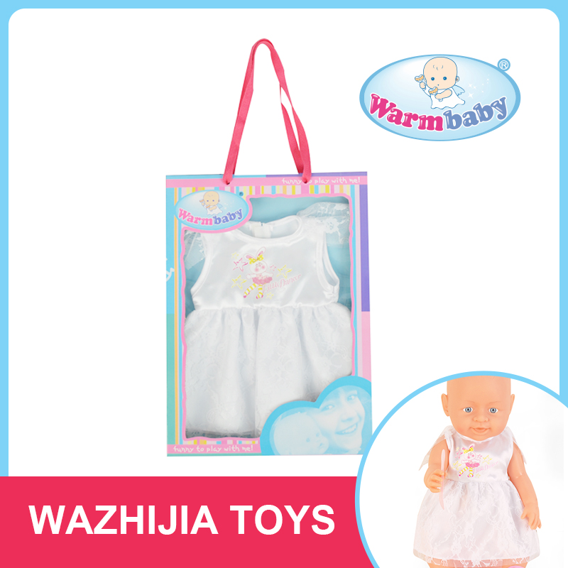 Guangdong supplier top quality best present girl doll clothes for sale