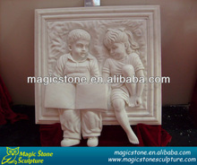 stone relief art wall sculpture