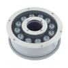 Stainless steel 12V/24V 18W LED swimming pool underwater light IP68