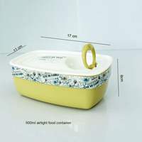 2014 hot eco friendly airtight plastic food container with vent lid