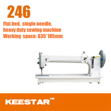 China new Keestar 246 long arm baseball glove sewing machine