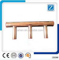 Copper Header Pipe Fittings