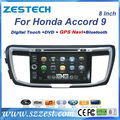 ZESTECH DVD Supplier 2 Din Touch screen Car Dvd for Honda Accord 9 Car Dvd Gps Navigation System autoradio gps