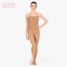 Adjustable Straps Caramel Full Body Tights For Women