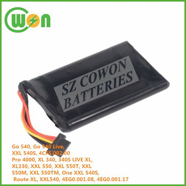 battery for TomTom Go 540 Go 540 Live One XXL 540S 4CF5.002.00 XXL IQ Routes EP0.001.02 1EP0.029.01 5EP0.029.0 Route XL XXL540TM