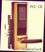 Elegance design solidity nature manual door lock