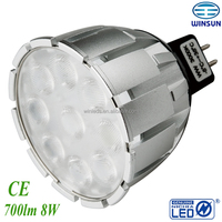 spotlight dimmable 500lm mr16 leds lighting ,nichia led,CE ROHS SAA