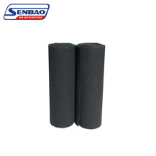 High efficiency filtration activated carbon filter media roll