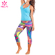 Custom Sexy Yoga Tops Yoga Leggings Wholesale Women Fitness Clothing Sports Wear set