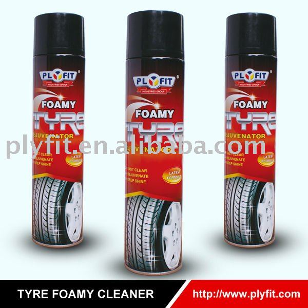 car care spray Tyre Foamy Cleaner Rejuvenator