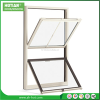Windows with Fly Screen UPVC Arch Shaped Windows Top Hung Window