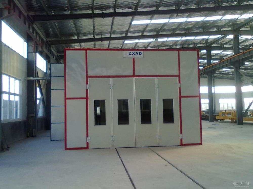 Large size paint truck garage spray booth for sale