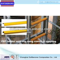 carborundum anti slip fiberglass ladder rung cover