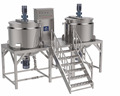 JBJ-1000L Steam heating Homogenizer mixer for Detergent and Liquid Soap