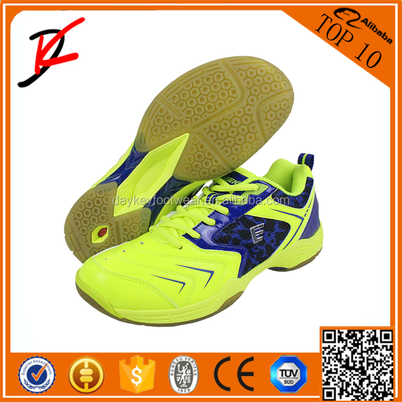 World Champ Men's Wear-resisting Breathable Power Cushion Badminton Handball Volleyball Indoor Shoes