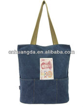 2013 fashion cotton book bag