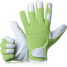 Comfy Slim-Fit Leather Work Gloves Gardener Gloves- Ideal Gift for Men,Women(Feminine/Ladies) at Anniversary, Christmas