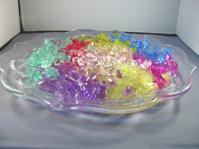 Rainbow Crystal Clay