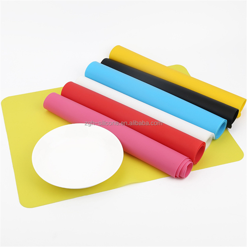 Heat Resistance and Water Proof Table Mat Silicone Kids Food Placemat