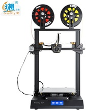 Creality 3d CR-X Two Color DIY 3d Printer Kits With Dual Extruder One Nozzle Build Size 300x300x400mm CR-10 Factory