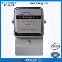 Analog and Digital Display Type Power Sonic Single Phase Solid State Electronic Smart Power Meter