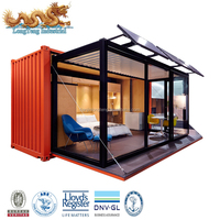 Europe Luxury 20ft 40ft Shipping Container Homes
