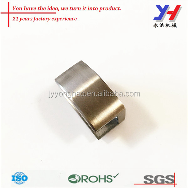 OEM ODM customized factory direct U shape sliding glass shower door stopper/Stainless steel stops