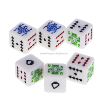 Factory Custom Laser Engraved Dice Casino Dice