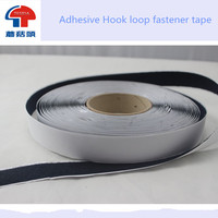 Adhesive Hook and loop,hook loop, Customized size and shape die cut are available