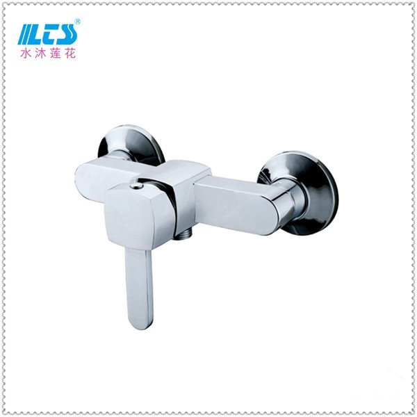 Bathroom shower mixer water faucet hot cold water with ceramic cartridge