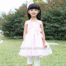Bowknot famous child clothing sex girls dress