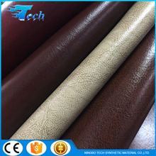 1.6mm Soft pu leather for sofa with composition/leather for furniture