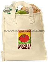 Canvas Cloth Cotton Fabric Woven Supermarket Bags or Sacks