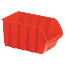 Industrial warehouse plastic stackable storage spare parts bins