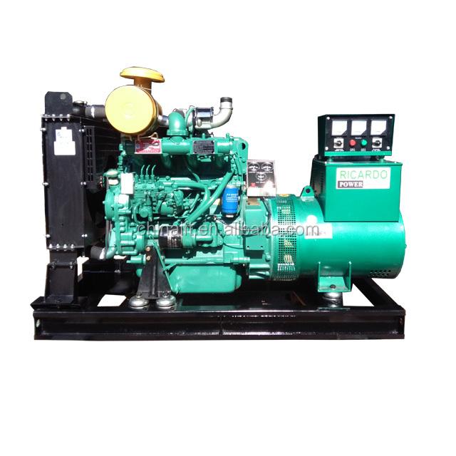 Three Phase Open Type 50Hz 60Hz 440V Diesel Generator Set Price List
