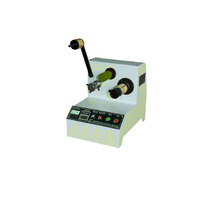 Mini type adhesive tape rewinding machine