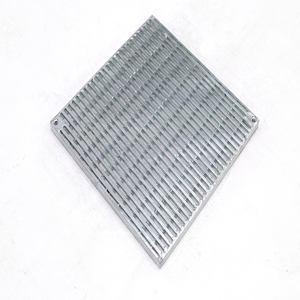 heavy duty galvanized drain catwalk steel grating