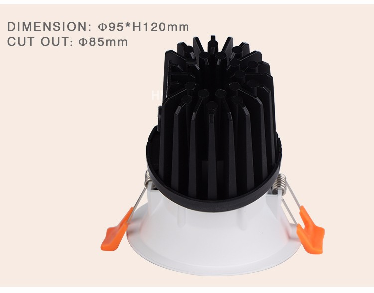 2020 New Product Energy Saving modern china led downlight manufacturer