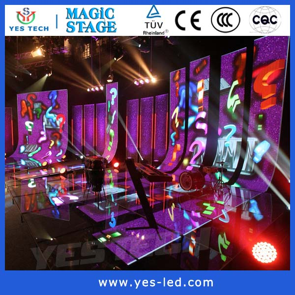 background slim led screen sign board display