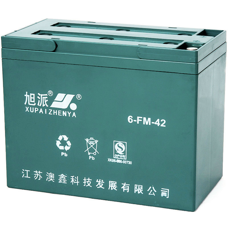 12V42AH valve regulated lead acid storage batteries traction battery