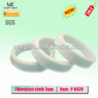 High Quality Strength Fiberglass Cloth Silicone Adhesive Tape 0.2 mm Thick For Transformer, Coil Insulation & Wrapping.