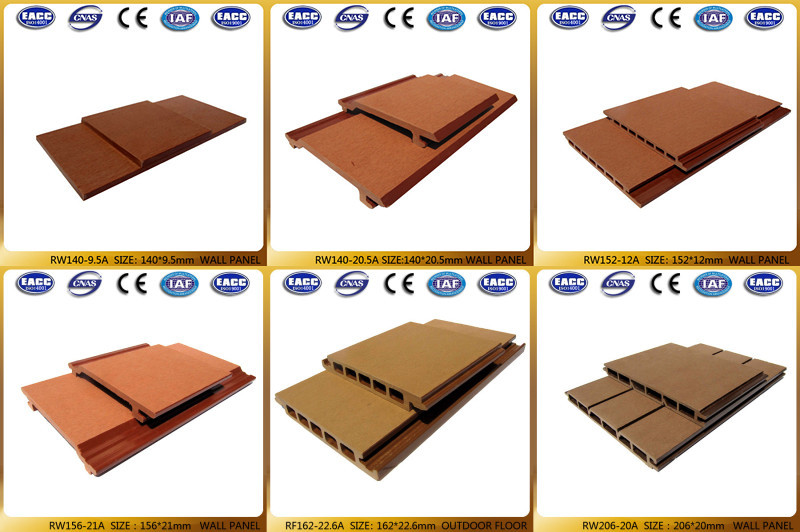 Waterproof Wpc Type Wood Plastic Composite Factory Direct Sale Wall Siding Cladding Exterior Wpc