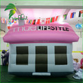 Funny Large Inflatable House Replica Model / Outdoor Decoration Inflatable Christmas Home Buildings