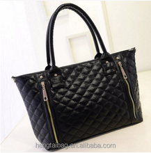 new design cheap price women handbags black tote bags of lady from china alibaba 2016